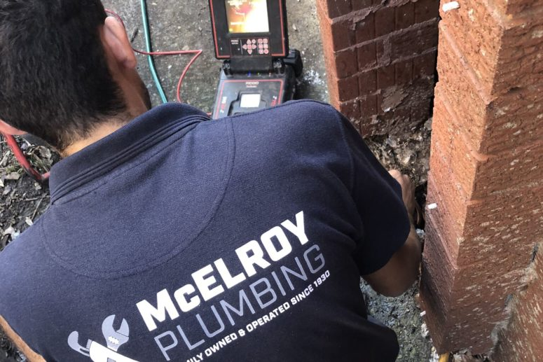 McElroy Plumbing hot water heater installation